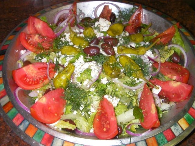 Greekish Salad