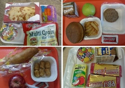 School Lunch Frankenfood