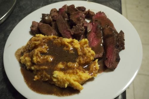 Filet Sirloin Potatoes