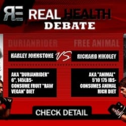 """The Real Health Debate:"" Live; Nikoley vs. Johnstone"