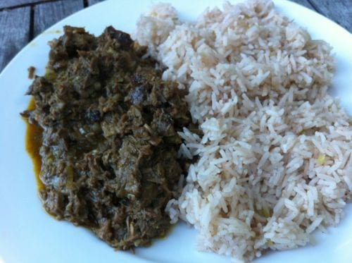 Curried Beef Pork Lamb