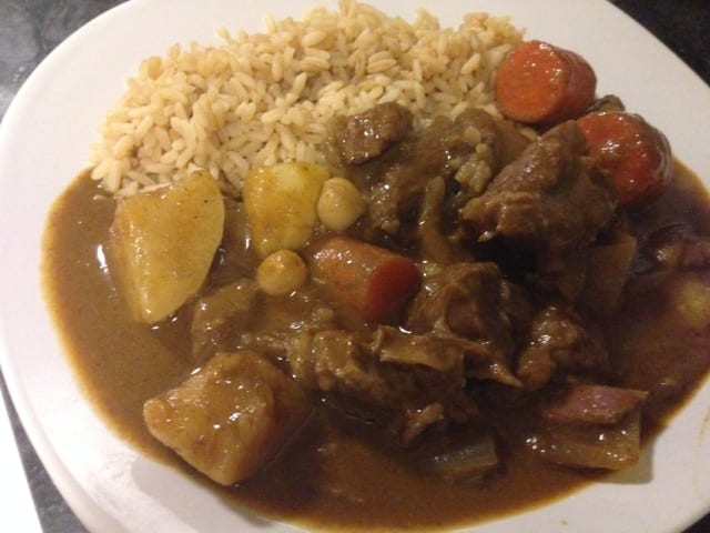 "Thai Massaman Beef Curry ""Stew"" 