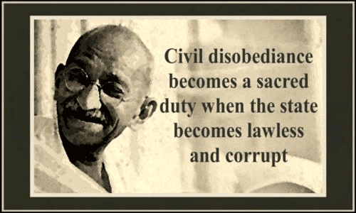 essay on civil disobediance Free essay: being a strong man of god, there is no doubt that king saw how his disobedience to the law was in direct conflict with the word of god submit.