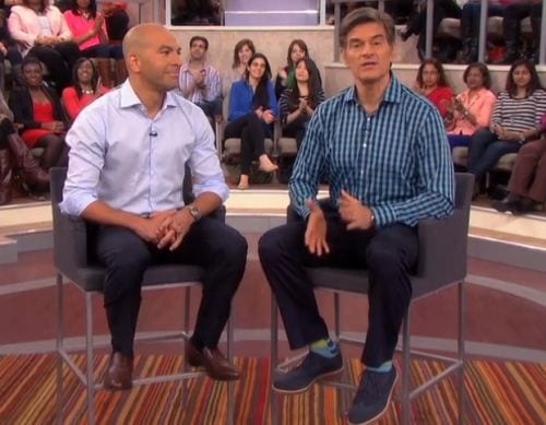 Peter Attia and Dr Oz