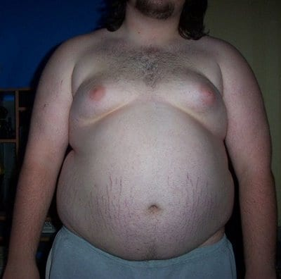 naked fat men asses