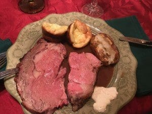 Family Christmas Celebration, Version 2016 (Prime Rib & Yorkshire Pudding)