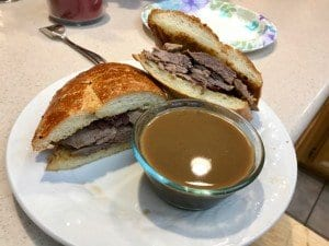The Prime Rib French Dip Sandwich