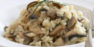 Quick Mushroom Risotto In The Instant Pot